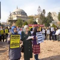 MEB'in Başörtüsünü Yasaklayan Yönetmeliğine Hayır!