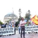 Suriye'ye Emperyalist Müdahaleye Hayır! Terrorist Vultures Get Out of Syria! No To Imperialist Intervention in Syria!