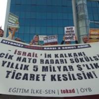 Kürecik Kapatılsın, İsrail'le Ticaret Kesilsin!