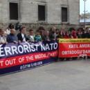 Ortadoğu'ya NATO ve ABD Öncülüğündeki Yeni Saldırıya Hayır!  Terrorist NATO, Get Out Of The Middle East!