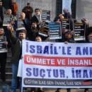 İstanbul'da Türkiye – İsrail Görüşmeleri Protesto Edildi