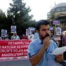 İncirlik'e Yerleşen ABD Öncülüğündeki Koalisyon Tokat'ta Protesto Edildi
