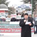 Tokat Müftülüğü Önünde Diyanet Protesto Edildi