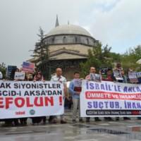 Kudüs'ün ve Filistin'in Özgürlüğü Direnişle Gelecek!