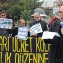 Tokat'ta Asgari Ücret Uygulaması Protesto Edildi : ASGARÎ ÜCRET DEĞİL; HAKÇA BÖLÜŞÜM, ÂDİL PAYLAŞIM!