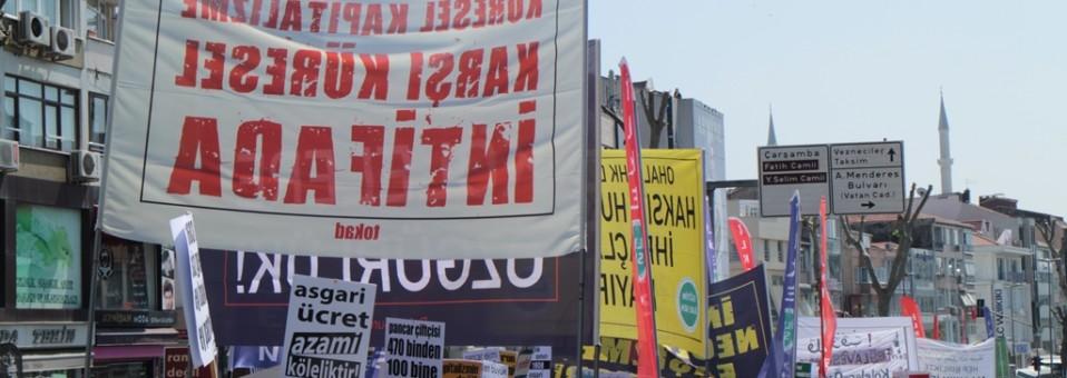 1 Mayıs: Küresel Kapitalizme  Karşı Küresel İntifada!